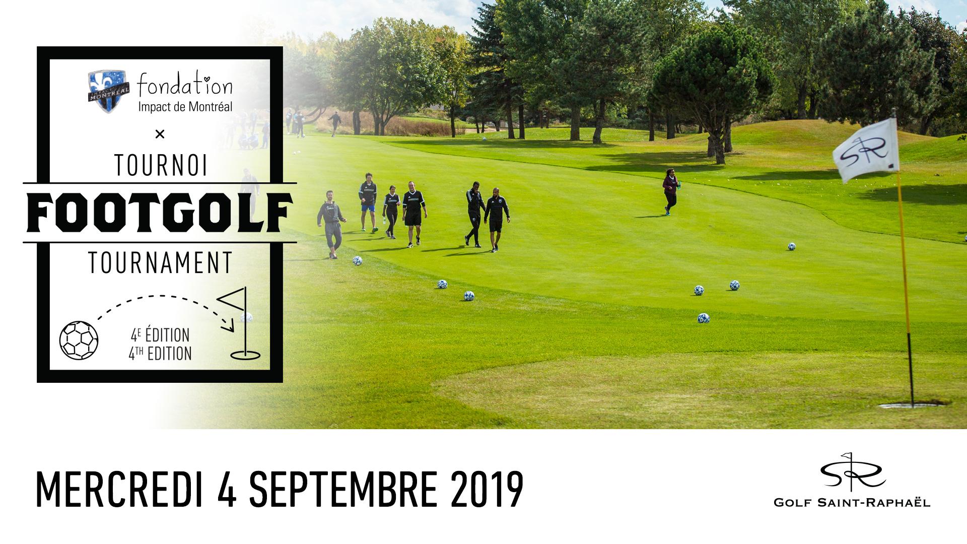 La quatrième édition du tournoi de footgolf aura lieu le 4 septembre