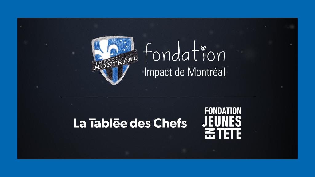 La Fondation s'associe à La Tablée des Chefs et à la Fondation Jeunes en Tête
